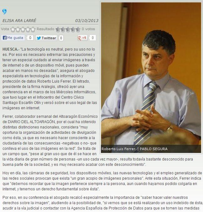 """""""Miradas en la Red"""" Jornada de Trabajo en Infocentros de Huesca"""